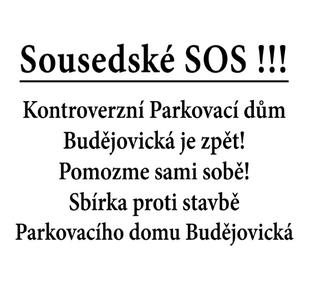 Sbírka na žalobu proti Parkovacímu pavilonu Budějovická