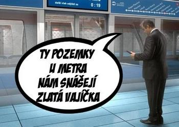 Stanice metra D Olbrachtova – město versus občané